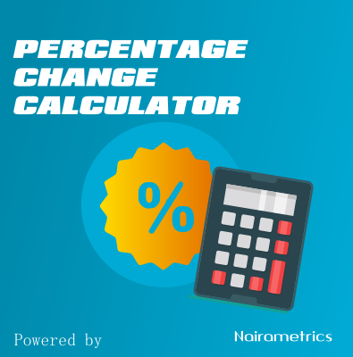 percentage change finance calculator